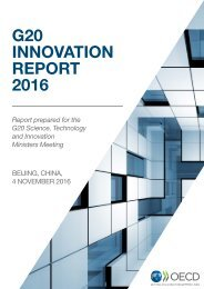 G20 INNOVATION REPORT 2016