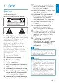 Philips Streamium Microchaîne hi-fi sans fil - Mode d'emploi - DAN - Page 5