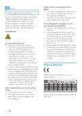 Philips Streamium Microchaîne hi-fi sans fil - Mode d'emploi - DAN - Page 6