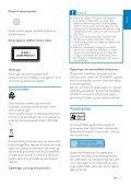 Philips Streamium Microchaîne hi-fi sans fil - Mode d'emploi - DAN - Page 7