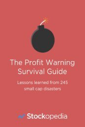 The Profit Warning Survival Guide