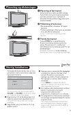 Philips Téléviseur - Mode d'emploi - DAN - Page 6