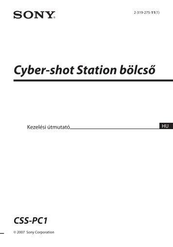 Sony CSS-PC1 - CSS-PC1 Istruzioni per l'uso Ungherese