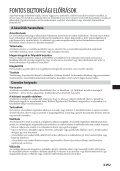 Sony CSS-PC1 - CSS-PC1 Istruzioni per l'uso Ungherese - Page 3