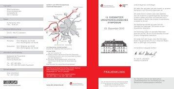 Tagungsort DRK Krankenhaus Chemnitz-Rabenstein ... - AGUB