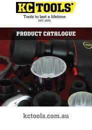 KCTOOLS PRODUCT CATALOGUE 2014