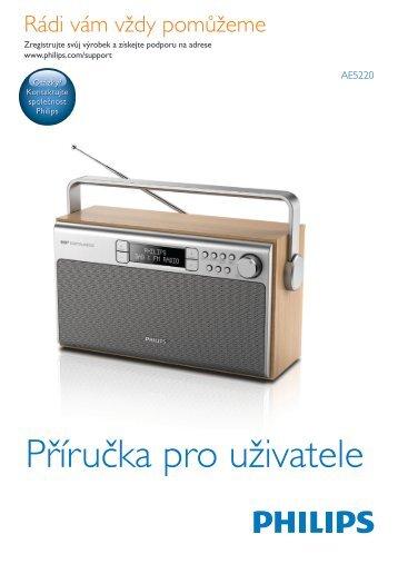 Philips Radio portable - Mode d'emploi - CES