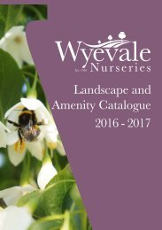 Landscape and Amenity Catalogue 2016 - 2017