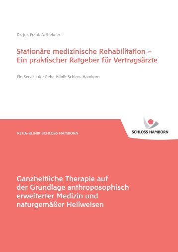 Stationäre Medizinische Rehabilitation – Ein ... - Schloss Hamborn
