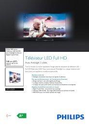 Philips 5000 series Téléviseur LED Full HD - Fiche Produit - FRA