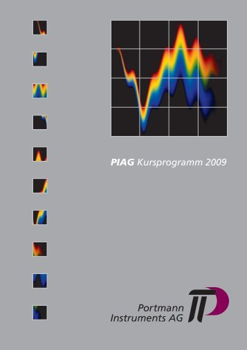 PIAG Kursprogramm 2009