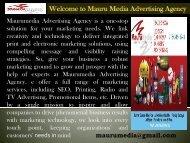 Letterhead service provider in Houston|| Mauru Media Advertising