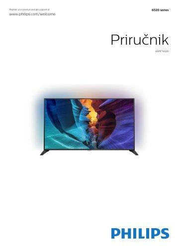 Philips 6500 series Téléviseur LED plat Full HD avec Android™ - Mode d'emploi - SRP
