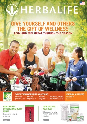 Herbalife - Product Catalog - Winter 2016