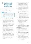 Philips Caméra vidéo numérique pour SCD610/00 - Mode d'emploi - ESP - Page 4