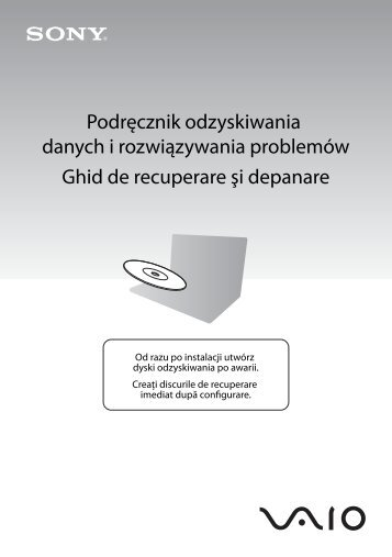 Sony VGN-FW54MR - VGN-FW54MR Guida alla risoluzione dei problemi Rumeno