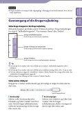 Sony NWZ-A846 - NWZ-A846 Istruzioni per l'uso Danese - Page 2