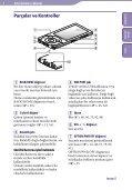 Sony NWZ-A846 - NWZ-A846 Istruzioni per l'uso Turco - Page 6