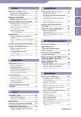 Sony NWZ-A846 - NWZ-A846 Istruzioni per l'uso Svedese - Page 4