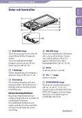 Sony NWZ-A846 - NWZ-A846 Istruzioni per l'uso Svedese - Page 6