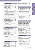 Sony NWZ-A846 - NWZ-A846 Istruzioni per l'uso Tedesco - Page 4