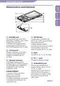 Sony NWZ-A846 - NWZ-A846 Istruzioni per l'uso Ungherese - Page 6