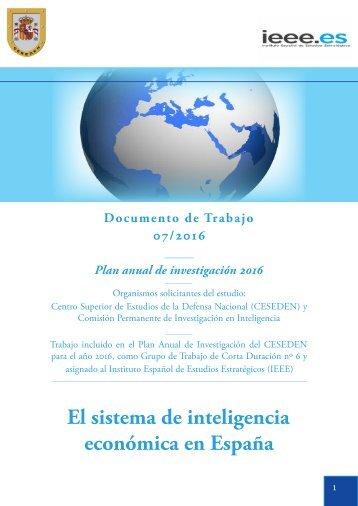 DIEEET07-2016_Sistema_Inteligencia_Economica_Espana