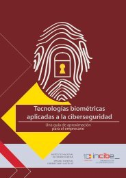 Tecnologías biométricas aplicadas a la ciberseguridad