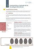 Tecnologías biométricas aplicadas a la ciberseguridad - Page 7