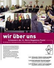 Schwestern der hl. Maria Magdalena Postel S. II ... - kontinente