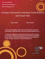A Simple Command to Calculate Travel Distance and Travel Time