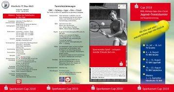 Jugend-Tennisturnier - OWL-Hellweg-Lippe-Ems-Circuit