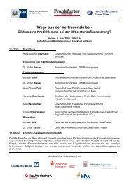 Wege aus der Vertrauenskrise - Maleki Conferences GmbH