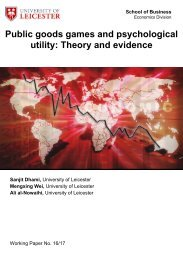 Public goods games and psychological utility Theory and evidence
