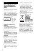 Sony DAV-X1 - DAV-X1 Istruzioni per l'uso Slovacco - Page 2