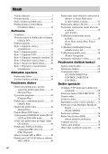 Sony DAV-X1 - DAV-X1 Istruzioni per l'uso Slovacco - Page 4