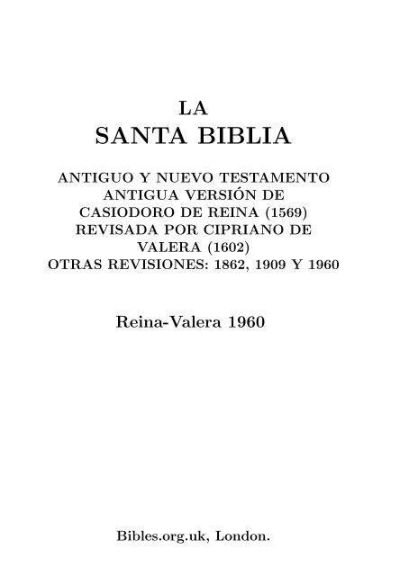 Biblia Reina-Valera-1960