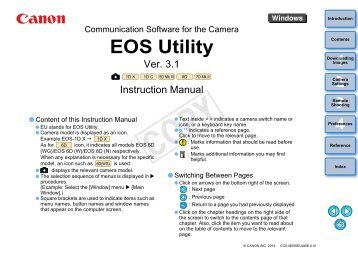 Canon eos utility manual best user guides and manuals how to use a camera with eos utility or nikon id station eu rh yumpu com canon eos utility instruction manual canon eos utility manual pdf fandeluxe Image collections