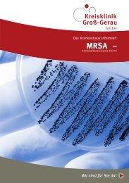 MRSA – - der Kreisklinik Groß-Gerau