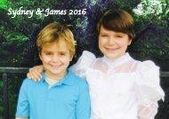 Sydney & James 2016