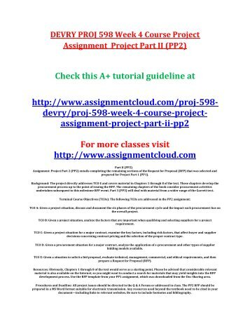 pm 598 course proj part 1 Download presentation powerpoint slideshow about 'pm 586 course remarkable change / snaptutorialcom' - chagam123reddy66 an image/link below is provided (as is) to download presentation.