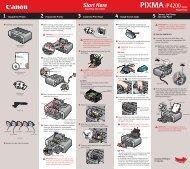 Canon PIXMA iP4200 - iP4200 Easy Setup Instructions