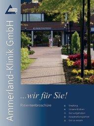 Medizinische - Ammerland-Klinik GmbH
