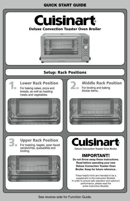 convection toaster deluxe oven broiler cuisinart hqdefault