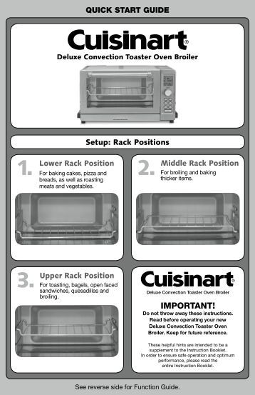 Toaster Oven User S Manual Model No Ebro 443mkii