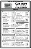 Cuisinart Chef's Convection Toaster Oven -TOB-260N1 - Quick Reference - Page 3