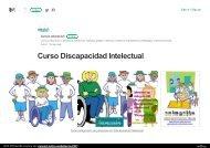 Curso Discapacidad Intelectual. Formacion a distancia