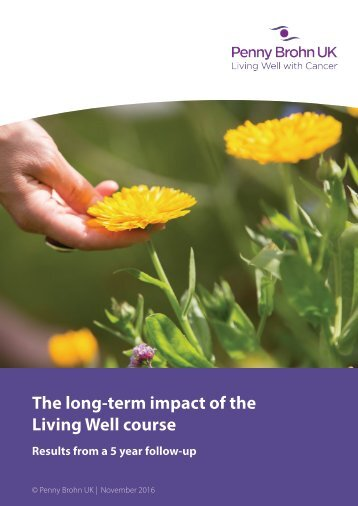 The long-term impact of the Living Well course