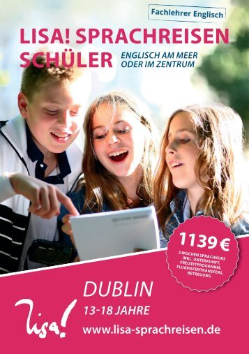 LISA! Schülersprachreisen Dublin 2017