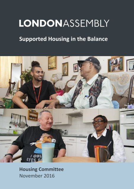 Supported Housing in the Balance
